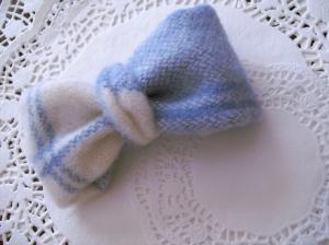 Bow Hair Clip - Handmade Hair Bow