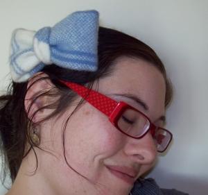 Hair Bow Clip - Handmade Hair Accessories