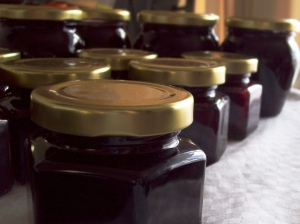 Jam Jars - Homemade Berry Jam