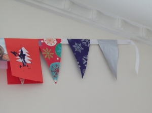 Paper Bunting - How To Make Cheap Paper Bunting