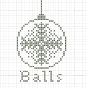 Free Christmas Cross Stitch Design