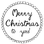 Printable Christmas Tag